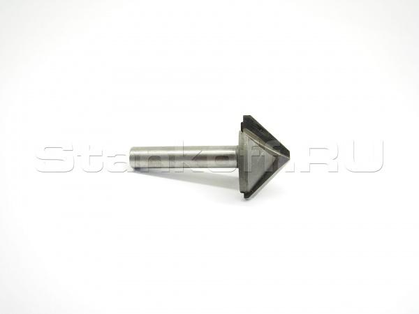Фреза V-образная концевая конусная для съема фаски N2V12.45120