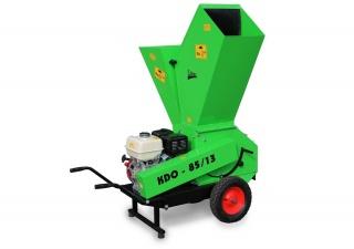 Мобильный измельчитель веток, сучьев и древесных отходов LASKI KDO 85/13T