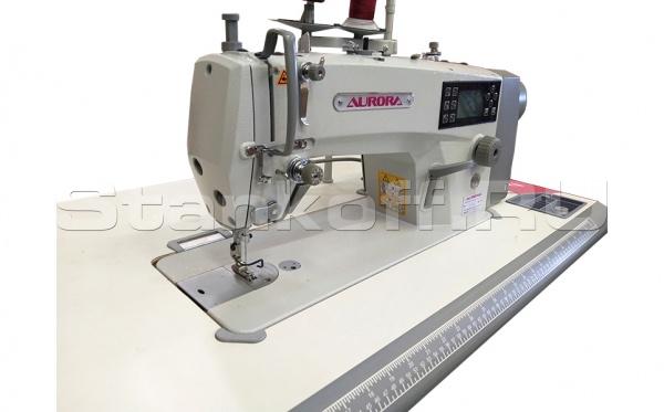Прямострочная швейная машина с электронными функциями Aurora V-4
