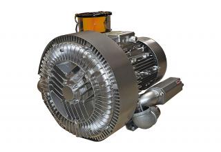 Вихревой вакуумный насос воздуходувка 7,5 кВт