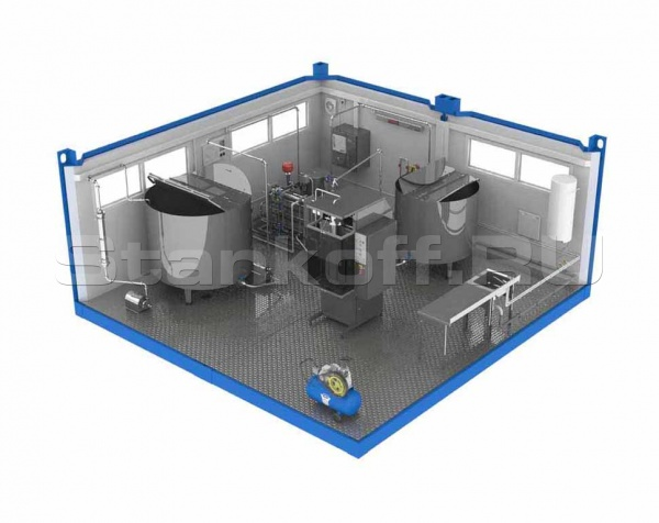 Завод для переработки молока ЗПМ-6000