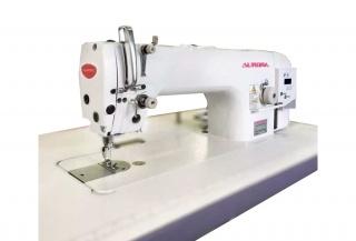 Прямострочная промышленная швейная машина с игольным продвижением Aurora A-721D-03