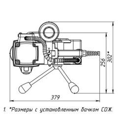Магнитный сверлильный станок MBR 100