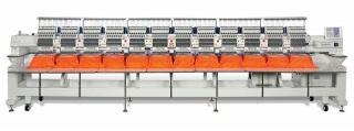 Промышленная двеннадцатиголовочная вышивальная машина RICOMA CHT2-1212