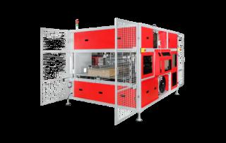 Высокоскоростная стреппинг машина для обвязки картона TP-CIL-13S