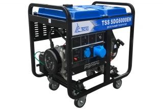 Дизельная электростанция TSS SDG 6000EH 6 кВт