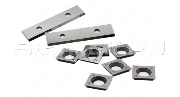 Нож сменный цельнотвердосплавный T02SMG TIGRA 50*12*1,5 для плитных материалов