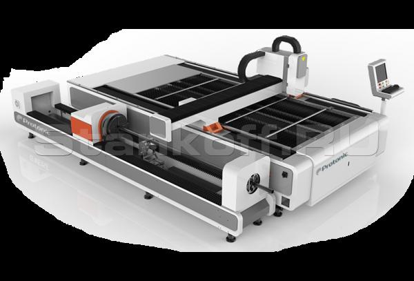 Оптоволоконный лазер с труборезом DualCut PRO CR3015/750 Raycus