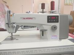 Прямострочная машина для средних и тяжелых материалов с прямым приводом Aurora V-1H