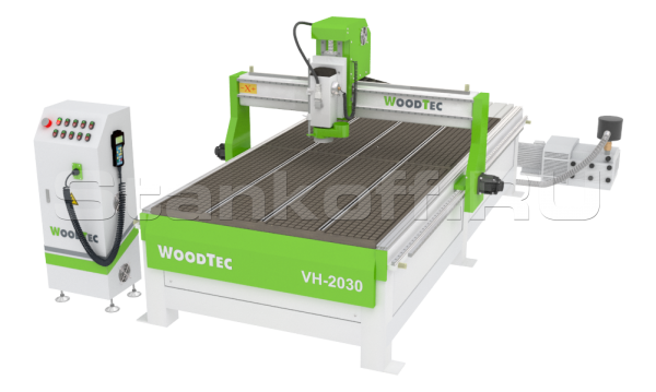 Фрезерно-гравировальный станок с ЧПУ WoodTec VH-2030