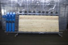 Пресс пневматический для бруса и щита SLP125-3-1250