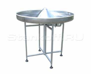 Вращающийся накопительный приемный стол Н-900