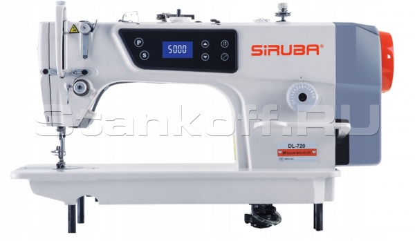 Прямострочная машина с позиционированием иглы и встроенным прямым приводом SIRUBA DL720M1