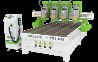 Фрезерно-гравировальный станок с ЧПУ WoodTec H 1325 4FM