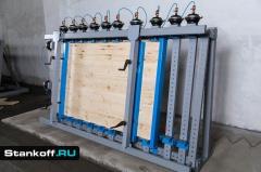 Пневматическая вайма для каркасных конструкций и мебельных щитов ВП17-2400Б-2 (двусторонняя)