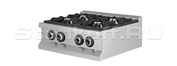 Газовая плита 4-х конфорочная EMP.9KG020