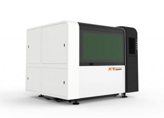 Оптоволоконный лазерный станок для резки металла XTC-F1309S/1000 Raycus