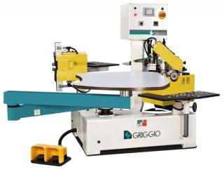 Станок для облицовывания криволинейных мебельных деталей Griggio Gelios
