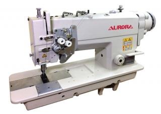 Двухигольная промышленная швейная машина AURORA A-845D-03 с прямым приводом