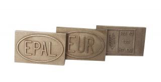 Комплект стальных клейм для поддонов EUR / EPAL / Колосок (фитосанитарное) ЕЕК-01021905