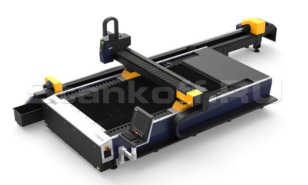 Оптоволоконный лазер для резки листового металла и труб HS-G3015B-F60/500 Raycus
