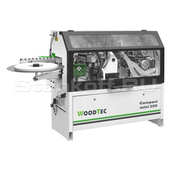 Станок для облицовывания кромок WoodTec Compact mini 300
