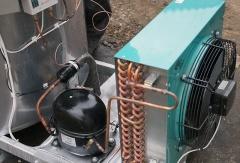 Охладитель молока вертикального типа ОМВТ-12000
