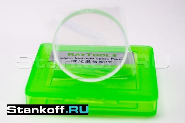 Оригинальное защитное стекло 27,9 x 4,1 мм Raytools LCG0035 для волоконных лазеров