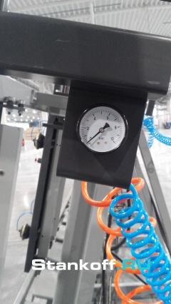 Пресс гидравлический вертикальный для оконного и строительного бруса и щита SL250-12GR