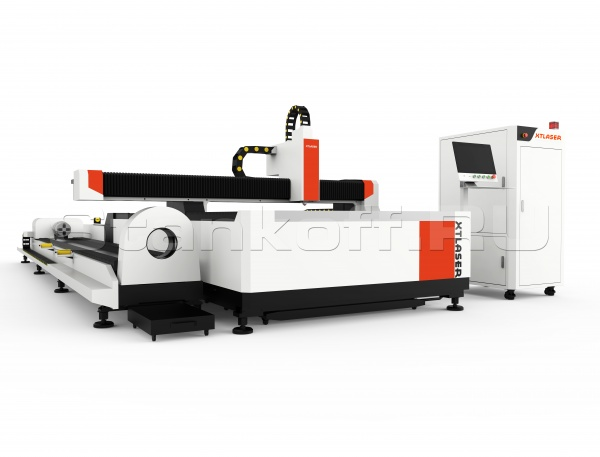 Станок волоконной лазерной резки листового металла и труб XTC-FT1530/500 IPG