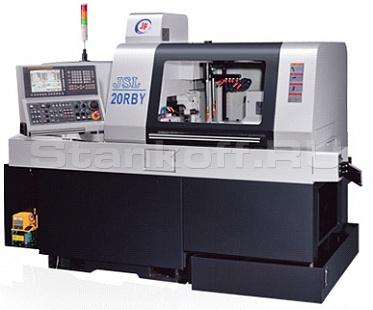 Автомат продольного точения с противошпинделем JSL-20RB/RBY