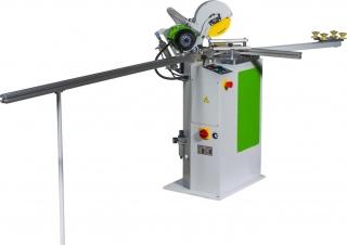 Односторонний усозарезной полуавтоматический станок с функцией фрезерования WoodTec-DR