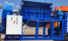 Универсальный промышленный шредер для пластика, резины, дерева, бумаги, стекла ШДП-3600