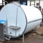 Молочный танк-охладитель закрытого типа ОМЗТ-10000