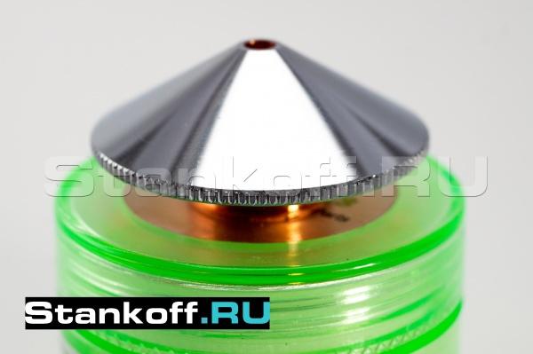Двойное сопло оригинальное 1,2 мм Raytools GJT0612 для лазерного станка по металлу
