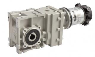 Кононическо-цилинидрический мотор-редуктор на редкоземельных магнитах NDCMB