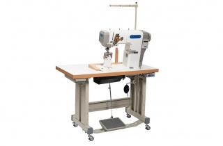 Колонковая двухигольная промышленная швейная машина GARUDAN GP-124-147