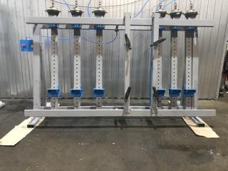 Пневматическая вайма для рамных конструкций и склейки столярных щитов ВП10-2400