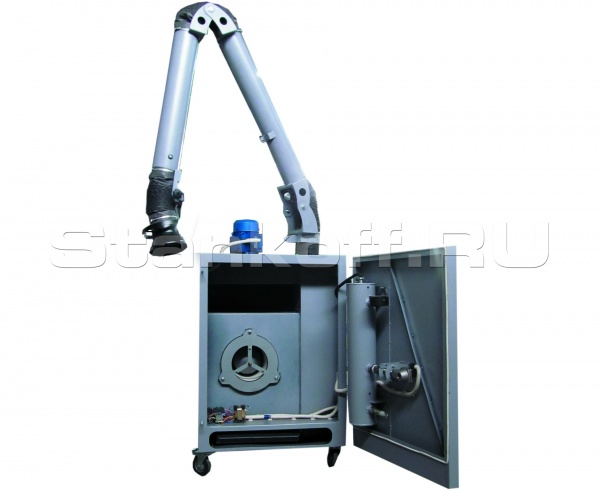 Картриджная мобильная фильтро-вентиляционная установка серии ФВУ-1200-ФКИ с функцией самоочистки