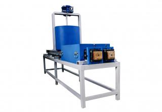 Станок по производству прессованных шашек для поддонов ШДП-4Ф