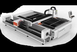 Волоконный лазерный станок с труборезом DualCut PRO CR3015/500 IPG