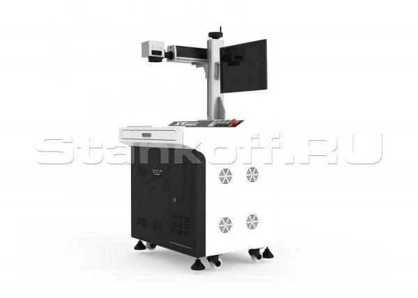 Волоконный лазерный маркер для гравировки по металлу XTL-F30