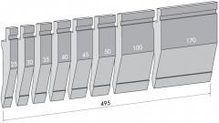 Пуансон для листогиба TOP.175-75-R2/FA