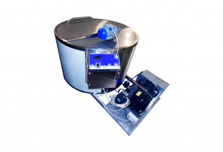 Молочный охладитель вертикального типа ОМВТ-10000