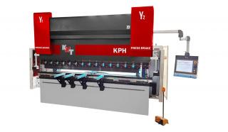 Синхронизированный гидравлический листогибочный пресс KPH 160-2500