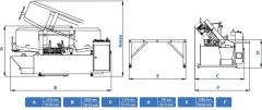 Станок ленточнопильный полуавтоматический CUTERAL PSM 300 U