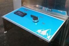 Молочный охладитель вертикального типа ОМВТ-2500
