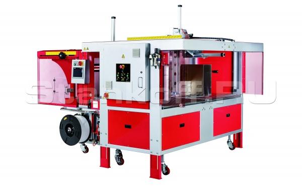 Автоматическая стреппинг машина для обвязки гофрокартона TP-702CQ-M