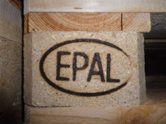 Клеймо для поддона EPAL 01017887