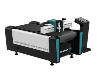 Компактный режущий плоттер c конвейерным столом PLT6090